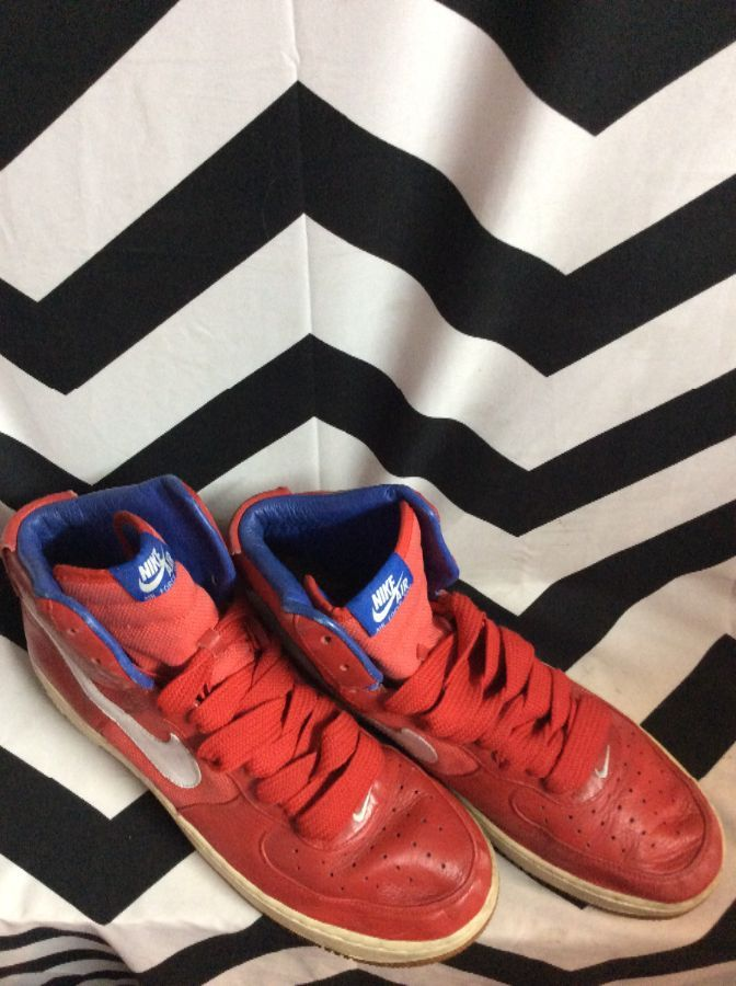 AIR FORCE 25 PHILADELPHIA 76ERS NIKE HIGH TOPS 2