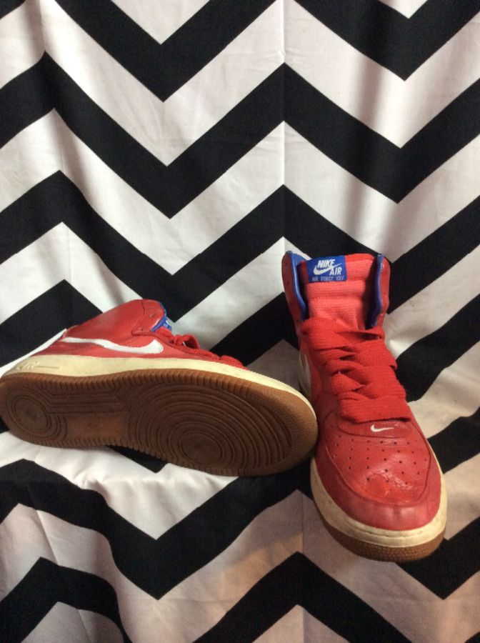 AIR FORCE 25 PHILADELPHIA 76ERS NIKE HIGH TOPS 4