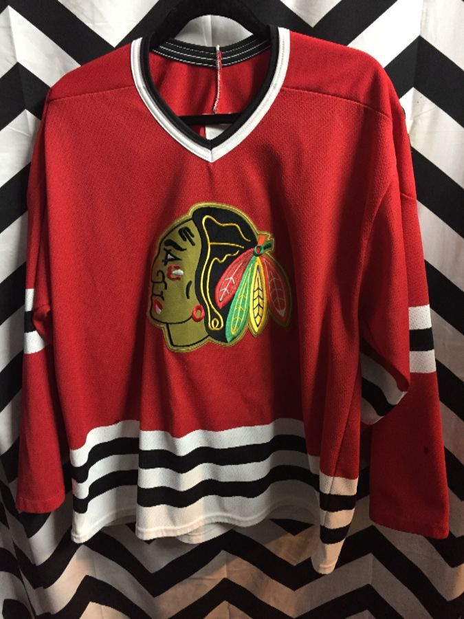 competitive price 258b3 045a2 NHL CHICAGO BLACKHAWKS HOCKEY JERSEY