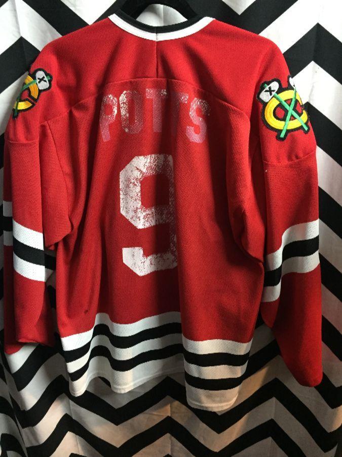 NHL CHICAGO BLACKHAWKS HOCKEY JERSEY » Boardwalk Vintage 29cd707f7