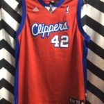 CLIPPERS #42 BRAND BASKETBALL JERSEY 1