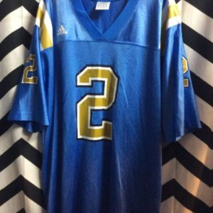 UCLA #2 FOOTBALL JERSEY BABY BLUE 1