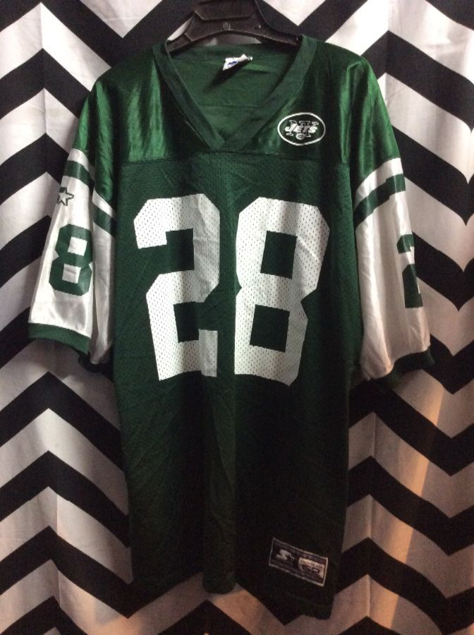 NY JETS MARTIN #28 FOOTBALL JERSEY 1