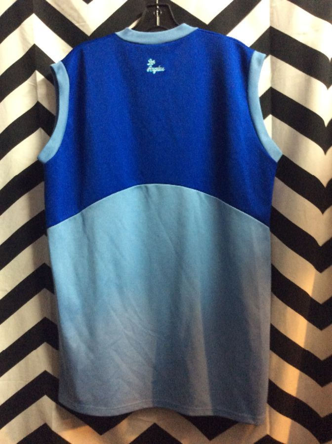 LAKERS LOS ANGELES BLUE BABY BLUE BASKETBALL JERSEY 2