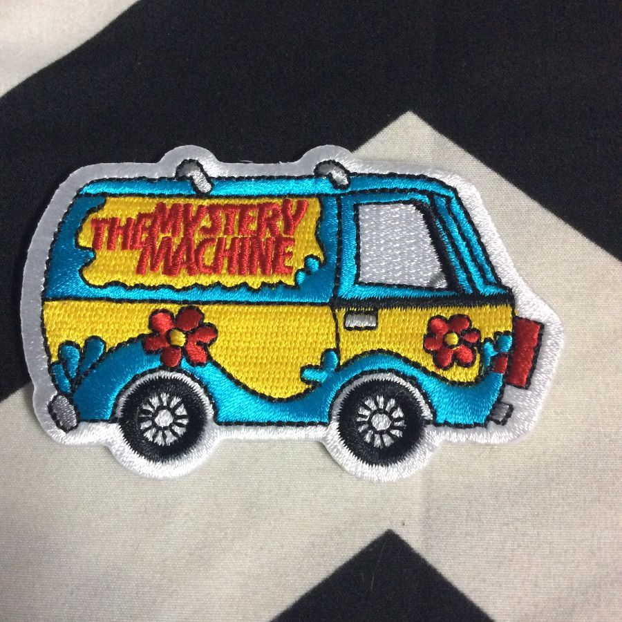 BW PATCH THE MYSTERY MACHINE VAN 1