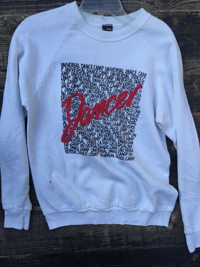 DANCE universal dance camp pullover sweatshirt 1