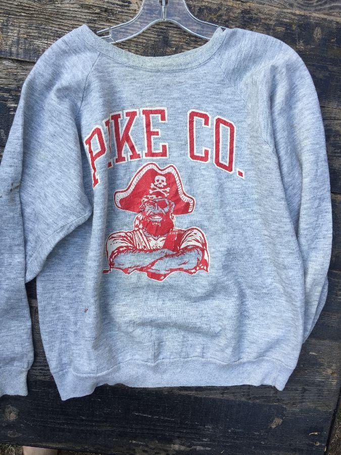 PIKE CO Pirates Soft pullover sweatshirt 1