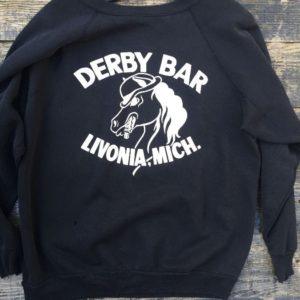 Derby Bar Livonia Michigan Pullover Sweatshirt 1