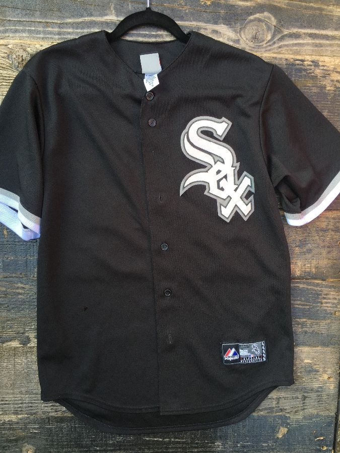 MLB Chicago Whitesox button up Jersey # 49 Sale 1