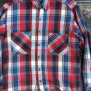 THICK SOFT PLAID BUTTON UP FLANNEL 1