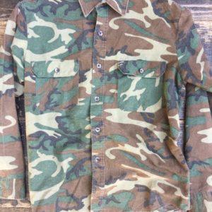 wool camo button up shirt 1
