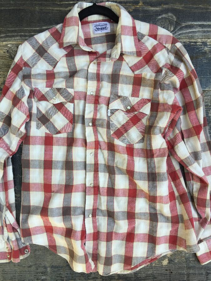 LS BD FLANNEL BUFFALO CHECK SHIRT 1