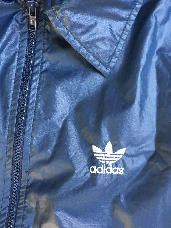 RETRO ADIDAS COLORBLOCK WINDBREAKER WITH HIDEAWAY HOOD 4