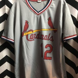 SS PULLOVER V NECK JERSEY SHIRT CARDINALS 12 LAWLESS 1
