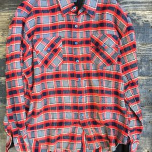 COTTON THICK FLANNEL (RED, GREY, BLACK) 1