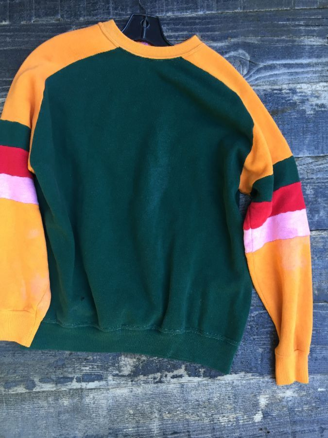 COLORBLOCK SLEEVE SWEATSHIRT 1