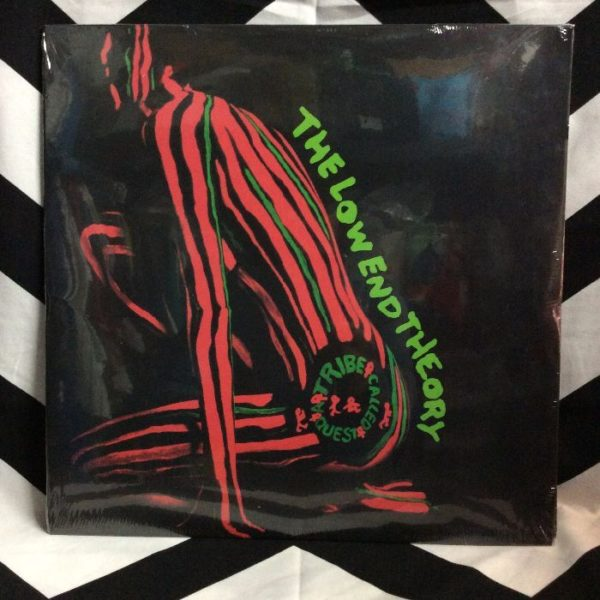 product details: BW VINYL A TRIBE CALLED QUEST THE LOW END THEORY photo