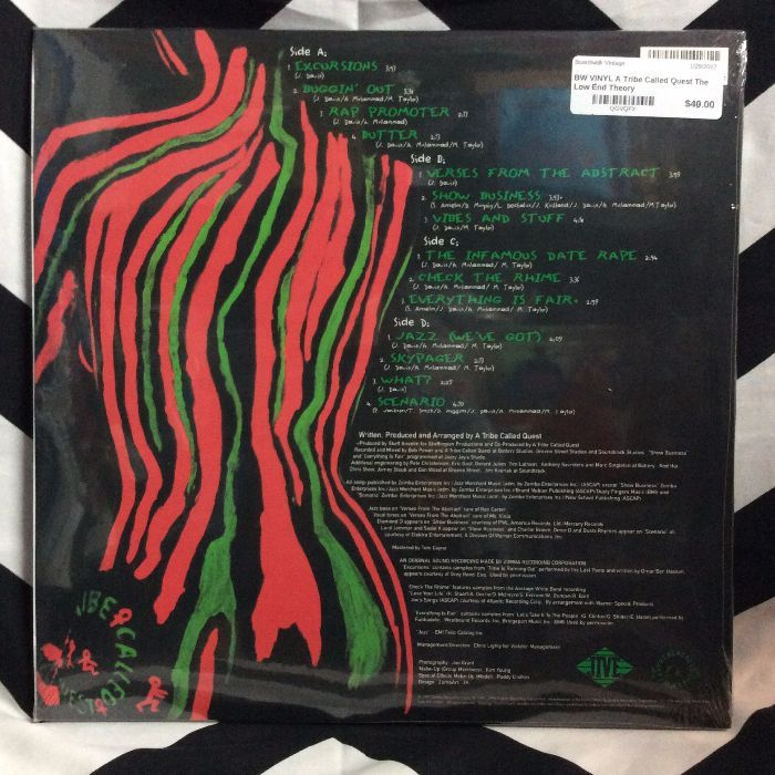 BW VINYL A Tribe Called Quest The Low End Theory 2