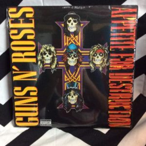 BW VINYL Gun N' Roses Appetite For Destruction 1