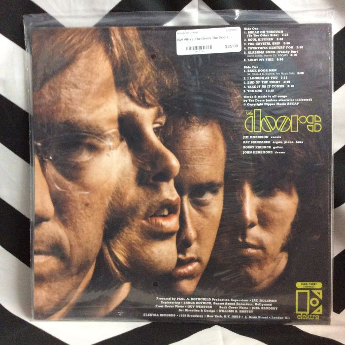 BW VINYL The Doors The Doors 2