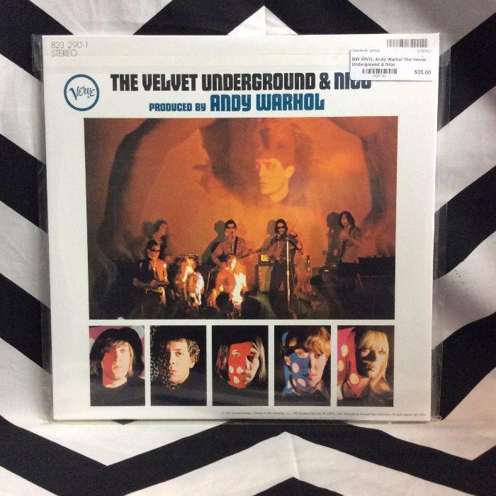 BW VINYL Andy Warhol The Velvet Underground & Nico 2
