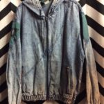 SPORT JEANS LEVIS ZIP UP DENIM HOODED JACKET 1
