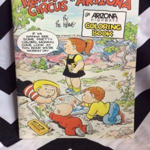 FAMILY CIRCUS ARIZONA COLORING BOOK 1