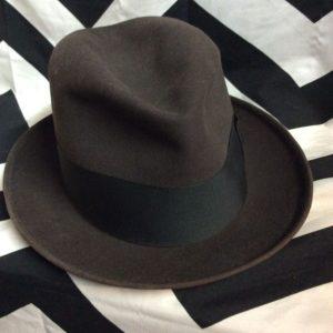 CLASSIC MENS FEDORA HAT 1
