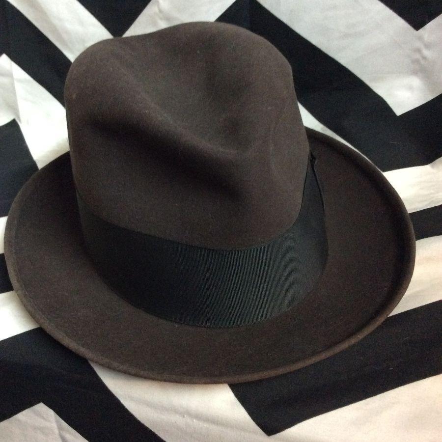 f60a0d01829 CAVANAGH CLASSIC MENS FEDORA HAT » Boardwalk Vintage