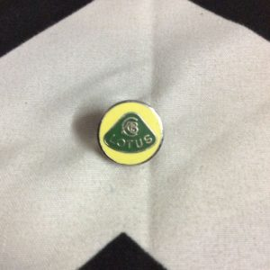 BW PIN- LOTUS EMBLEM YELLOW GREEN *old stock 1