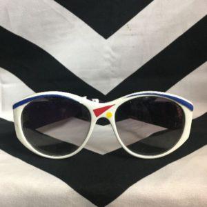 Sunglasses 1980's Shape Print Frames 1