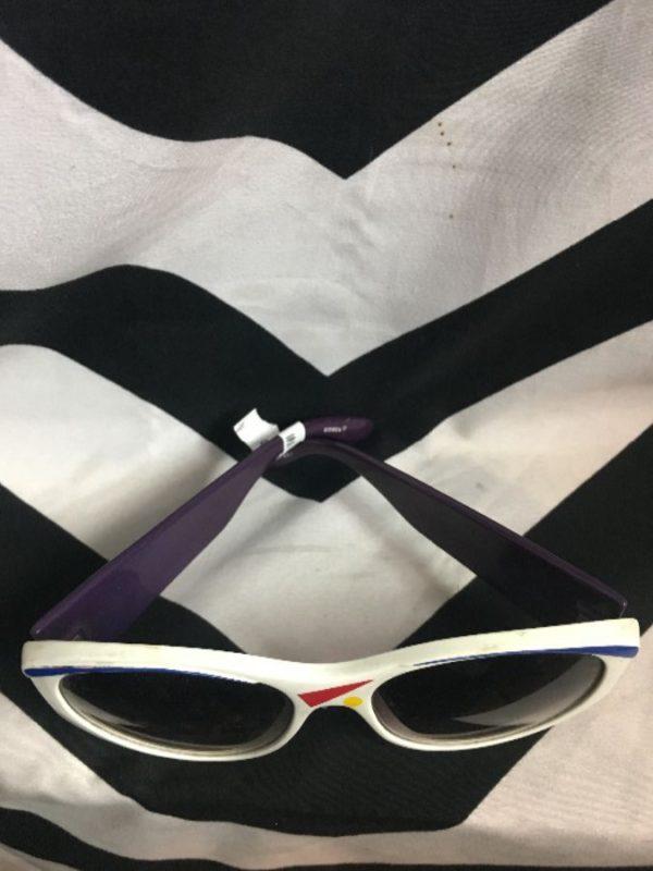 Sunglasses 1980's Shape Print Frames 2
