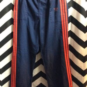 ADIDAS RED STRIPES WARMUP PANTS 1