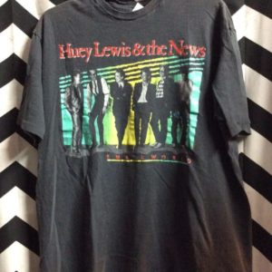 TSHIRT HUEY LEWIS SMALLWORLD 1