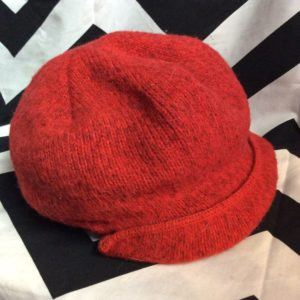 LL BEAN KNIT WOOL BLEAND BEANIE MADE IN USA 1