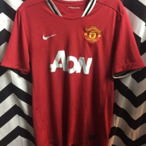 Manchester United soccer jersey EPL as-is 1
