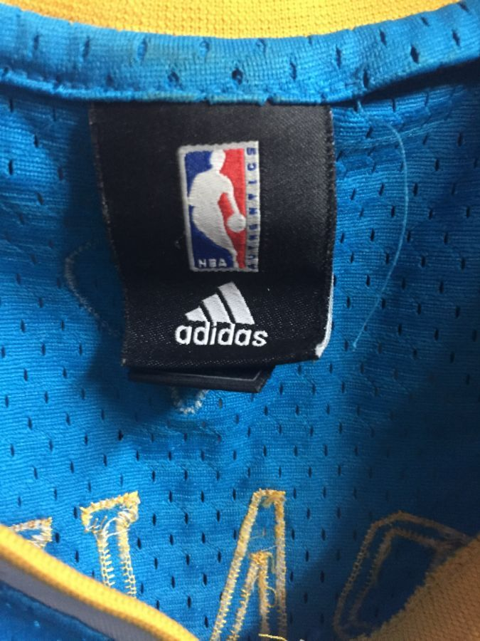 c2605d58e ADIDAS NEW ORLEANS HORNETS JERSEY  3 CHRIS PAUL NBA » Boardwalk Vintage