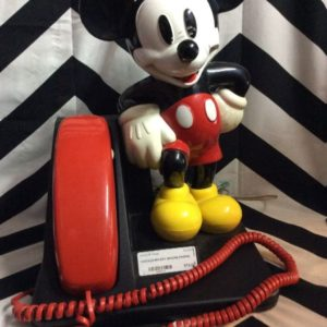 VINTAGE MICKEY MOUSE PHONE 1