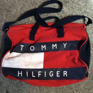 TOMMY HILFIGER COTTON DUFFLE BAG 1