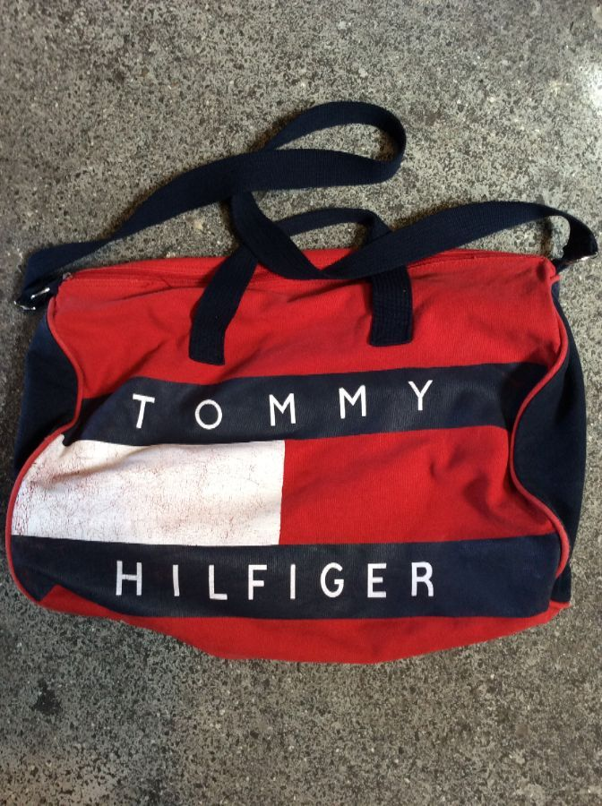 e8e69c39ae TOMMY HILFIGER COTTON DUFFLE BAG » Boardwalk Vintage