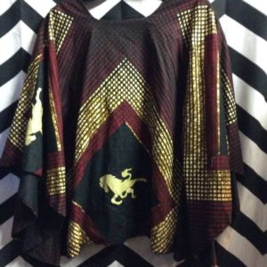 2 PIECE PANT AND PONCHO TOP AFRICAN DASHIKI STYLE 1