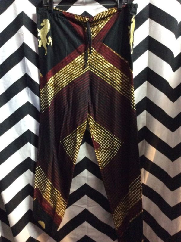 2 PIECE PANT AND PONCHO TOP AFRICAN DASHIKI STYLE 3
