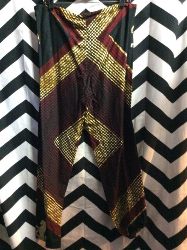 2 PIECE PANT AND PONCHO TOP AFRICAN DASHIKI STYLE 4