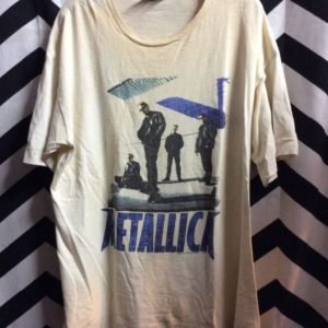 TSHIRT 1996 METALLICA BAND MEMBERS GRAPHIC 1
