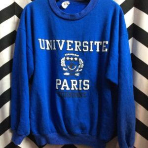 UNIVERSITY OF PARIS SWEATSHIRT 1