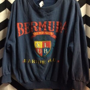 BERMUDA MARINE CLUB SWEATSHIRT 1