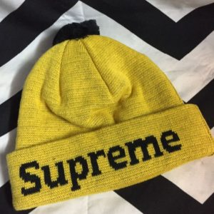 Supreme pom-pom beanie Jordan New Love colorway 1