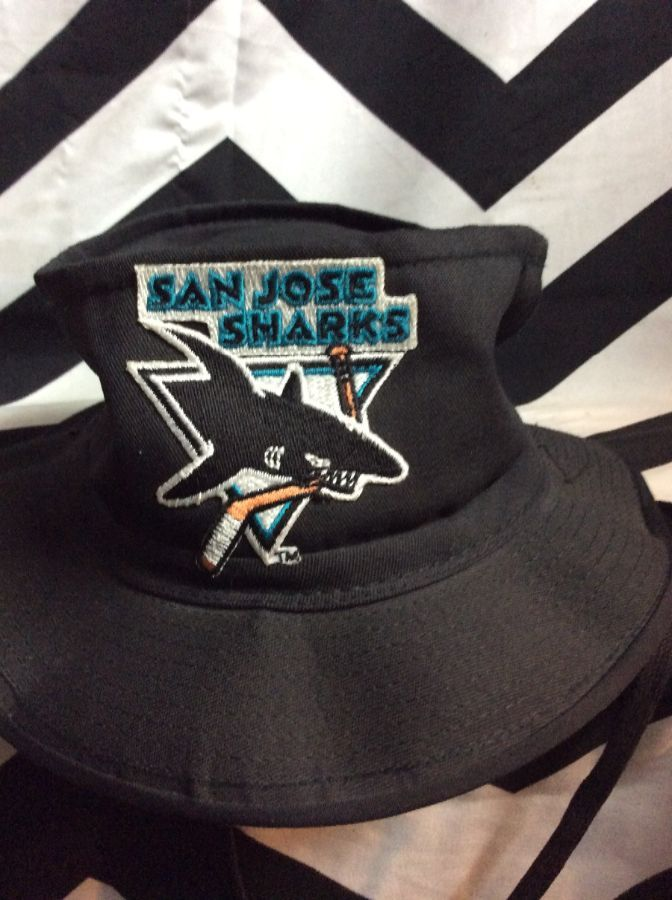 9fc1fbc5b78 NFL SAN JOSE SHARKS BUCKET HAT » Boardwalk Vintage