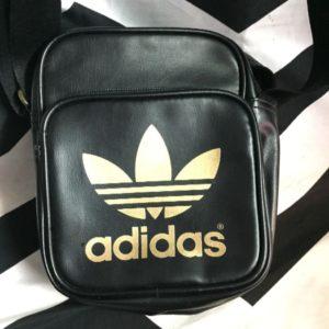 Adidas mini bag with Gold trefoil logo 1