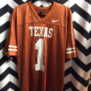 NCAA University of Texas Longhors football jersey #1 1